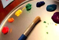 创造力提升:你和孩子玩过这样的彩虹画吗?