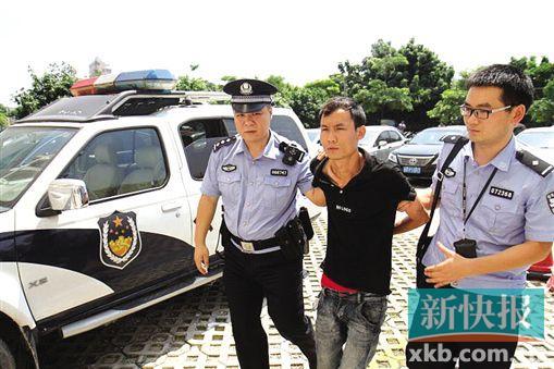 深圳6岁女童被黑衣男子抱走 两天后在东莞获救