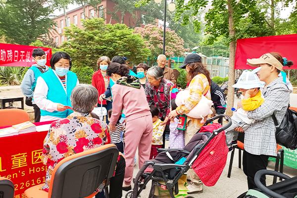 北京天使儿童医院为爱牵手 点亮希望 全国助残日天使公益行(图文)